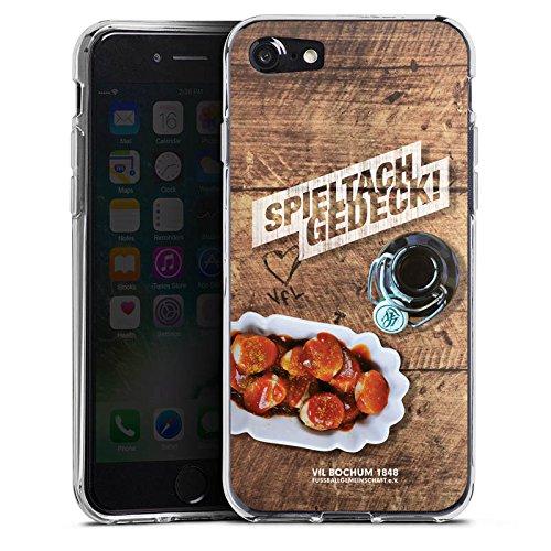 Apple iPhone X Silikon Hülle Case Schutzhülle VfL Bochum Fanartikel Fußball Silikon Case transparent
