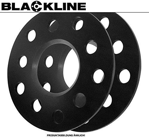 Preisvergleich Produktbild BlackLine Spurverbreiterung 10mm Achse (5mm pro Rad) LK: 5x112 NLB: 66, 6mm - 20510213_4250891976717