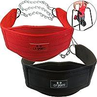 C.P. Sports DIP de cinturón (dipgürtel, DIPP Cinturón), rojo
