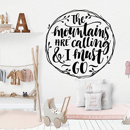Cartoon berge Wandkunst Aufkleber Dekoration Mode Aufkleber Für Kinderzimmer Diy Dekoration Wandkunst Aufkleber-28x28 cm