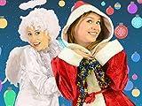 Singen Sie Jingle Bells Lied mit Angel und Mrs Claus