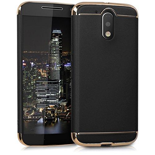kwmobile Motorola Moto G4 / Moto G4 Plus Custodia - Case Protettiva cromata - Back Cover galvanizzata - Metal Look Case Ultra Slim per Motorola Moto G4 / Moto G4 Plus