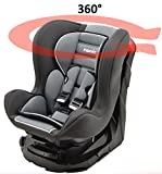 Kinderautositz REVO 360° drehbar und neigbar - gruppen 0+/1-4 farben - Storm