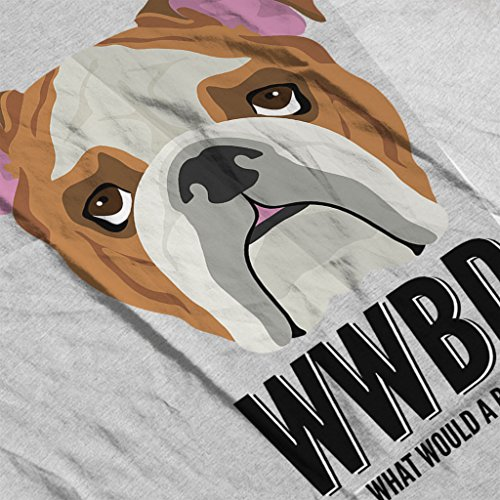 Coto7 What Would A Bulldog Do Women's Vest Heather Grey