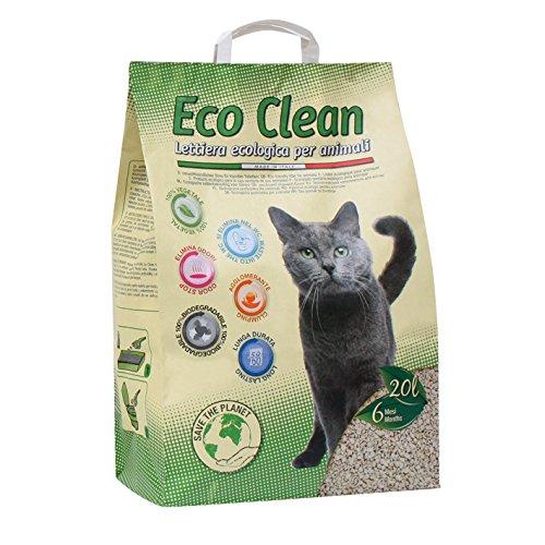 Croci-lettiera-per-Gatti-Eco-Clean-20-Litri