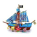 Simba Spongebob Pirate Boat Playset
