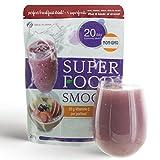 Superfood SMOO-C 200g Köstlicher & Gesunder Smoothie-Mix mit Acai-Beeren Kakao und Vitamin C-Zusatz – mehr Power für den Tag