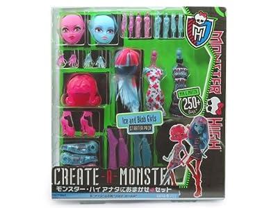 Monster High Y0416 - Crea tu monstruo, accesorios para muñecas por Mattel