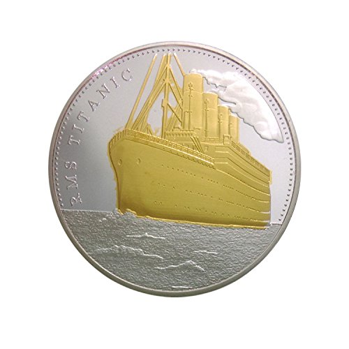 Harrington Marley RARE TITANIC 100 YEAR ANNIVERSARY COIN COMMEMORATIVE COLLECTABLE CURIO GIFT