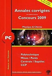 Physique et chimie PC : Annales des Concours