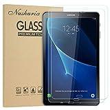 Nasharia [2 Stück] Galaxy Tab A 10.1 Schutzfolie, Samsung T580 Panzerglasfolie, Tempered Glas Folie Panzerglas Bildschirmschutz Folie für Samsung Galaxy Tab A 10.1 2016 T580/T580N