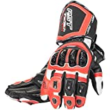 New 2015 RST Tractech Evo Ce 2579 Motorcycle Sports Glove Flo Red