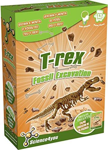 Science4You Magic Kit- Giocattolo educativo e scientifico [Lingua Italiana Non Garantita] T-Rex