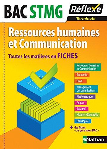 Toutes les matières en FICHES Terminale STMG - Ressources humaines et Communication