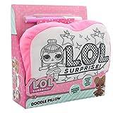 L.O.L. Surprise ! Mini Cojín A Colorear Munecas LOL Actividad Creativa para Niñas Almohada para Niña