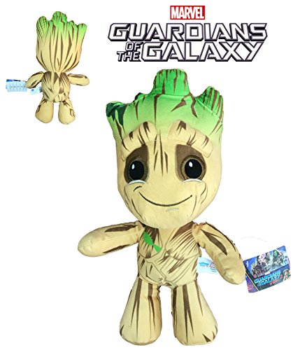 MRVL Guardians of The Galaxy - Plüsch Groot 33cm Qualità Super Soft
