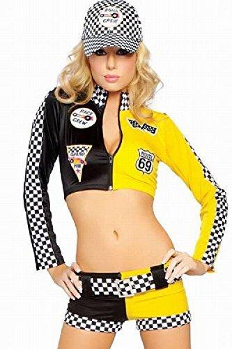 Preisvergleich Produktbild [Presenter] Campaign Girl,  Race Queen,  yellow x black costume cosplay [presenter] (japan import)