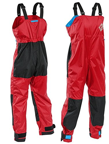 Gr. XL Palm Paddelhose Centre Salopettes knallrot Touringhose Bootshose rot Test