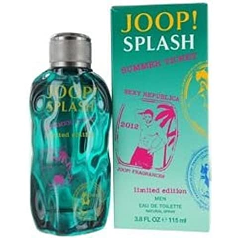 Joop Splash Summer Ticket by Joop! Eau De Toilette Spray 112 ml for Men by Joop!