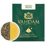 Tè verde biologico in foglie dall'Himalaya (30 bustine) - 100% Tè naturale disintossicante e snellente, perfetto per perdere peso. RICCO DI ANTIOSSIDANTI. Il miglior tè verde in foglie al mondo, confezionato direttamente in India