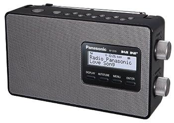Panasonic Rf-d10eg-k Digitalradio (Dab+ukw Tuner, Netz- Und Batteriebetrieb) Schwarz 1