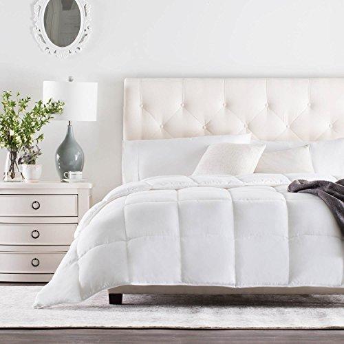 WEEKENDER Steppdecke für alle Jahreszeiten, Alternative Hotel-Stil, Einlage oder Stand-Alone California King Weiß (Classic White) -