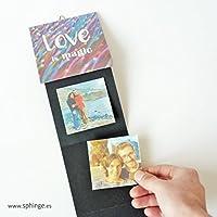 Álbum San Valentín, portafotos de pared, artesanal, instagram, regalo original San Valentín