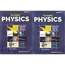 New Simplified Physics : A Reference Book for Class 12 for 2019 Examination (Set of 2 Volumes)