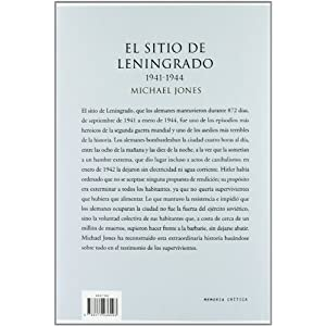 El sitio de Leningrado 1941-1944 (Memoria Crítica)