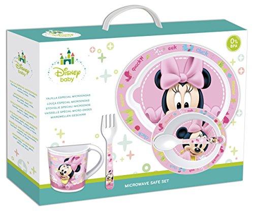 5Stück Mikrowelle Set–Minnie Maus Baby