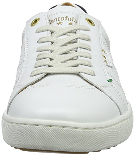Pantofola d'Oro Canaverse Uomo Low, chaussons d'intérieur homme Blanc (Bright White)