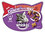 Whiskas Trio Crunchy Cat Treats Mixed Grill Flavors, 55 g