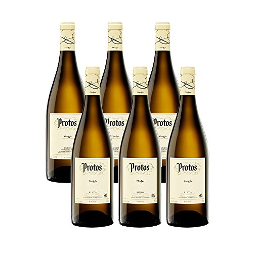 Protos Verdejo 2017-Vino Blanco Rueda-6 Botellas-0,75l 2011
