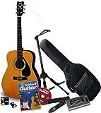 Yamaha F310-PP - Guitarra acústica (cuerdas metálicas), color marrón