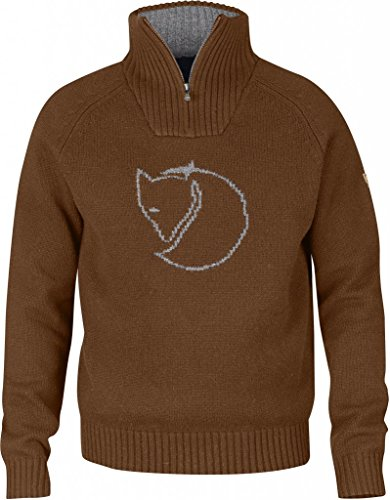 Fjällräven Herren Red Fox Sweater Pullover Chestnut