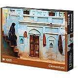 Clementoni - Puzzle de 1000 piezas, National Geographic, diseño Pastel Facade (393114)