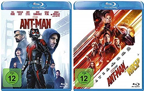 Ant-Man + Ant-Man and the Wasp / Teil 1+2 [Blu-ray Set]