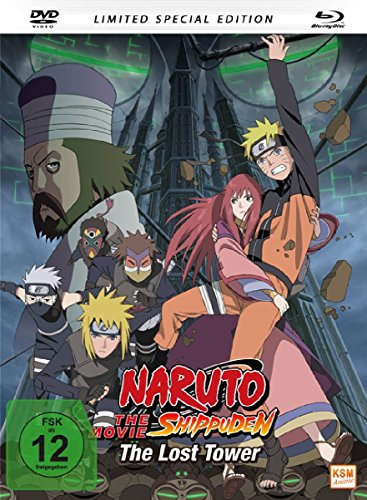 Naruto Shippuden - The Lost Tower - The Movie 4 - Special Edition - Mediabook, limitiert auf 1.500 Stück [Blu-ray] (The Shippuden Movie Naruto)
