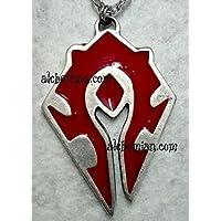 Warcraft Horde, collana degli Orchi dell'Orda, stemma rosso