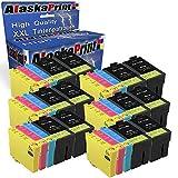 Alaska 30 Druckerpatronen Komp. Für Epson 27Xl 27 XL T27XL Multipack für Workforce WF 3620 3640 7610 7620 7110 WF3620 WF3640 Patronen Tintenpatronen