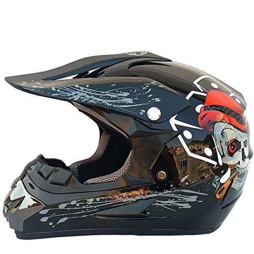 Adult Offroad Helm, Mountainbike, Beach Motocross Helm,C,L