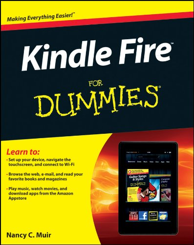 Kindle Fire For Dummies (English Edition) (Fire Kindle Dummies Für)