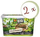Oleanderhof® - Set risparmio: 2 compostatori COMPO BIO, 3 kg + gratis Oleanderhof Flyer