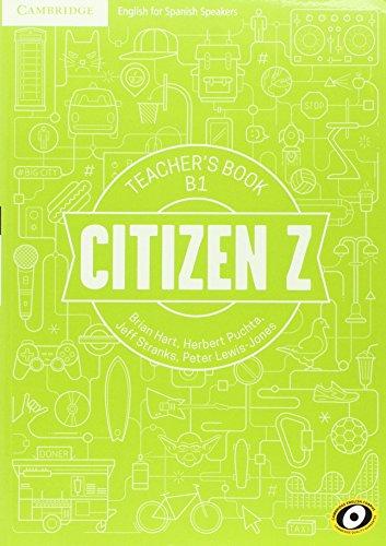 Citizen Z B1 Teacher's Book - 9788490363140