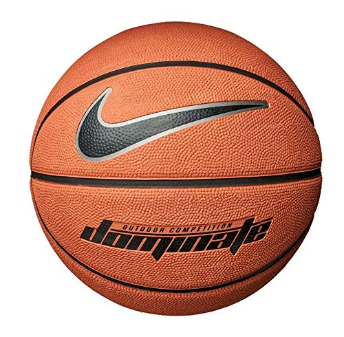 Nike Dominate Basketball 8P 6 amber/black/mtlc platinum/black (Outdoor Basketball Nike Ball)
