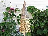 Keramik Gartenstecker Garten Pflanzenstecker Beetstecker Zipfel Gartendeko handmade