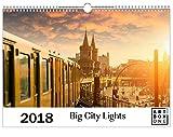 artboxONE Kalender 2018 Big City Lights Wandkalender A3 Städte