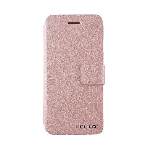 Eleoption® Smartphone Schutzhülle Leder Hülle mit Standfunktion & Karte Halter (Samsung Galaxy S7 5,1