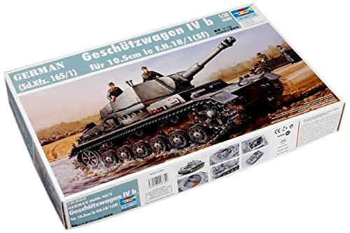 Trumpeter 00374 Modellbausatz Geschützwagen Ivb für 10,5 cm