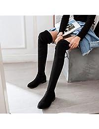 KHSKX-La Nuova Maglia Sandali Femminili Xia Po Con Scarpe Tacco Alto 8.5Cm Garza Bocca Di Pesce Scarpe Stivali Fighi Della Moda 36 White